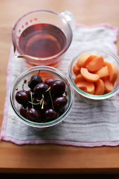 she who eats: getting to know apricots...with the help of cherries