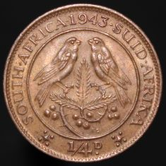 #Coins #Numismatics #KMCoins Numismatic Coins, Coins Worth Money, Coin Worth, George Vi, World Coins, Coin Jewelry, Coin Collecting, South Africa, Birth