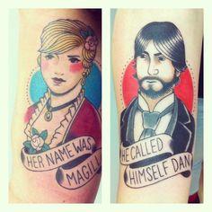 Beatles tattoo - Rocky Racoon @Juan Hernández Quintero
