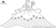 Embroidery Transfers, Hand Embroidery Patterns, Vintage Embroidery, Embroidery Designs, Embroidery Needles, Cross Stitch Embroidery, Craft Patterns, Stitch Patterns, Bonnet Pattern