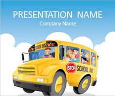 school bus backgrounds   Download 20 Free Education PowerPoint Presentation Templates for ...