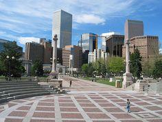 Downtown cityscape, Denver, Colorado