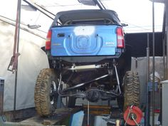 One Link and front suspension (homemade) Jimny Suzuki, Monster Trucks, Homemade, Board, Projects, Log Projects, Blue Prints, Home Made, Planks