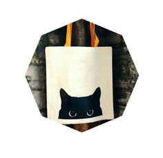 10,53€ Tote bag, canvas bag, 100% cotton bag with screen printed design for every cat lover!