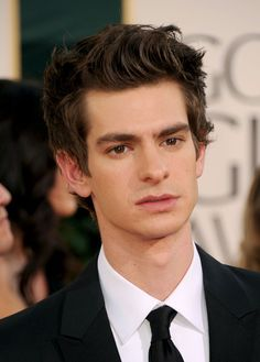 Joss from The Slayer Chronicles by Heather Brewer (Andrew Garfield)