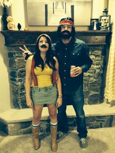 Funny couples costume Cheech and Chong!