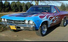 1969 Chevrolet El Camino SS.