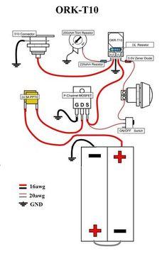 20A Naos Raptor Wiring Diagram | Diy box mod, Vape mods ...