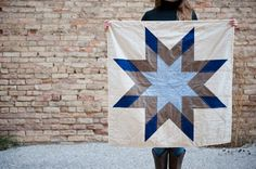 Star quilt by Courtney Heimerl