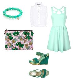 """Untitled #6"" by jiyasatpute on Polyvore featuring From St Xavier, Ally Fashion, Marissa Webb and Sydney Evan"