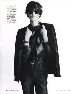 Vogue Rússia Fevereiro 2015 | Saskia de Brauw por Patrick Demarchelier [Editorial]