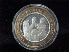 Limited Edition $10 Gaming Token Pioneer 6 ozt 999 Fine Silver Casino Strike | eBay