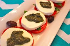 Greek Kalamata Olive and Basil Pesto