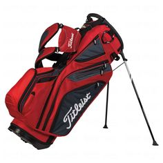 Leist 2017 14 Way Stand Bag Red Charcoal Black Tb5sx14610 Golf Bags