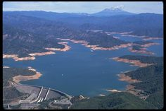 Shasta Lake has a capacity of 4,552,000 acre·ft at full pool, the lake has an elevation of 1,067 ft, and a surface area of 30,000 acres, making it the state's largest reservoir, and its third-largest body of water after Lake Tahoe and the Salton Sea.