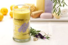Lavender Lemon Ring Candle