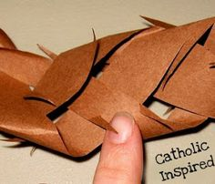 Make a Paper Crown of Thorns! - Catholic Inspired ~ Arts, Crafts, and Activities