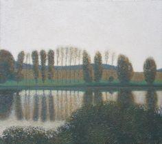Пейзаж с отражением