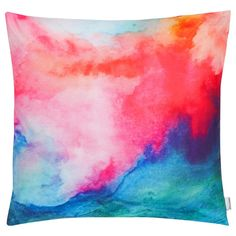 Dress up your bed or lounge chairs by layering decorative pillows. Mix and match prints to create a look that's all your own. Stylish Home Decor, Home Decor Store, Designer Pillow, Window Coverings, Abstract Print, Furniture Decor, Decorative Pillows, Duvet Covers, Wall Decor