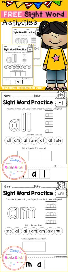 347 Best Kids Sight Words Images In 2019 School Vocabulary