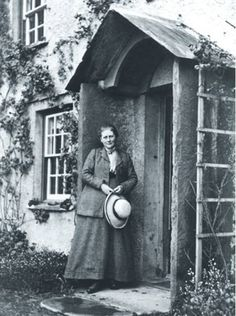 Beatrix Potter  A very fine lady and an inspiration.