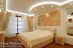Faux plafond design avec un esprit novateur pour 2017 avec des types faux plafond tendu, faux plafond suspendu, plafond placo...