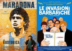"""Black Friday su Own Air: """"Maradona"""" di Emir Kusturica e """"Le invasioni barbariche"""" di Denys Arcand a €0.99 da oggi e per tutto il fine settimana, approfittatene subito!"""