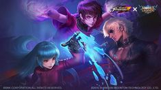 Mobile Legends bang bang - new skin 2020 Anime Couples Drawings, Couple Drawings, Kula Diamond, Christmas Carnival, Comic Art Girls, The Legend Of Heroes, Mobile Legend Wallpaper, Hd Wallpapers For Mobile, King Of Fighters
