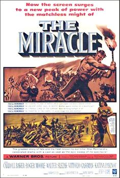 The Miracle movie posters Carroll Baker, Roger Moore, Lois Smith, Peter Finch, Rapper, Drama, Magazine Articles, Classic Films, Great Stories