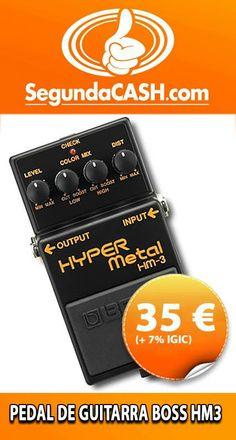 #Venta Pedal de Guitarra BOSS HM3 http://www.segundacash.com/