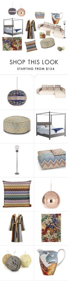 """Missoni Room color soft"" by silvia-magazzini on Polyvore featuring interior…"