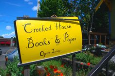 Crooked House Books & Paper,   Portland, Oregon