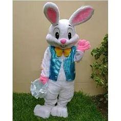 2017 Bán Như Chuyên Phục Bunny Mascot Trang Phục Rabbit Adult Miễn Phí Vận Chuyển