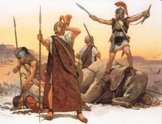 Celtiberian mercenaries, Second Punic War, by Angus Mcbride