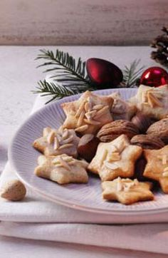 New Cookies Rezept Gofeminin Ideas German Bread, German Baking, Xmas Food, Christmas Baking, No Bake Cookies, Cake Cookies, Baking Recipes, Cookie Recipes, German Cookies