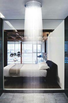 ¿Dormitorio-Ducha?  Woww!