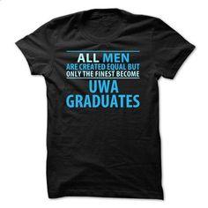 AUS - UWA Graduates ( Men) - #slogan tee #maroon sweater. GET YOURS => https://www.sunfrog.com/LifeStyle/Limited-Edition--UWA-Graduates-Men-Black.html?68278