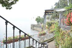 vista sul lago maggiore molto romantico