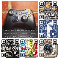 """""""Like"""" Goldstar Tech on Facebook and follow us on Instagram for a chance to win this Xbox 360 Controller!"""