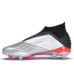 9e807d4cc251 FANCIHAWAY New Soccer Shoes Men Kids Football Boots High Ankle Original  Soccer FG Predator 19+