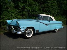 1956 Ford Sunliner, perfect cruising car when I was 16.  Many trips to the custard stand in this one.