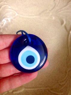 Evil eye bead Turkish evil eye bead by CreativeShopIdeas Turkish Eye, Evil Eye, Over Ear Headphones, Beads, Trending Outfits, Unique Jewelry, Handmade Gifts, Etsy, Beading