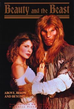 Beauty and the Beast 11x17 TV Poster (1987)
