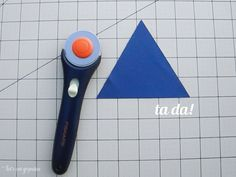How to cut equilateral triangles using your cutting mat