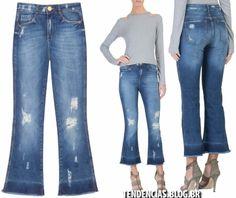 Calca Jeans Verão 2017 pantacourt
