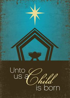 A Child is Born - Nativity from CardsDirect