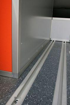 Seat Rails - Terracamper - Die Bus-Manufaktur