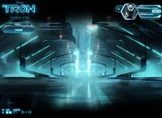 #TRON: Legacy Franchise Site Art