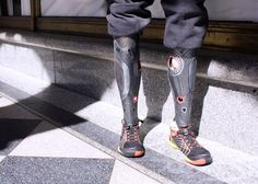 PROTH - Prosthetic limbs transformed into a fashion statement.