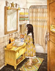 321 images about The Diary Of A Forest Girl on We Heart It Girls Diary, Forest Girl, Korean Art, Illustrations, Children's Book Illustration, Anime Art Girl, Whimsical Art, Cute Drawings, Cute Wallpapers